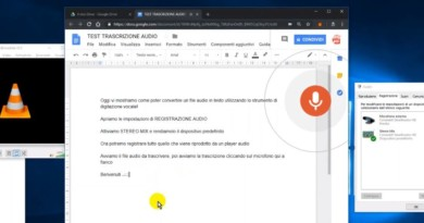 Come trascrivere un file AUDIO vocale in TESTO